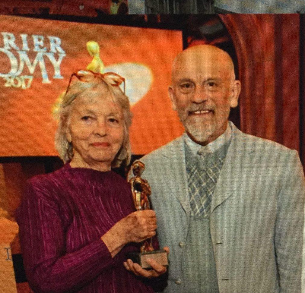 Birgit Hutter mit John
