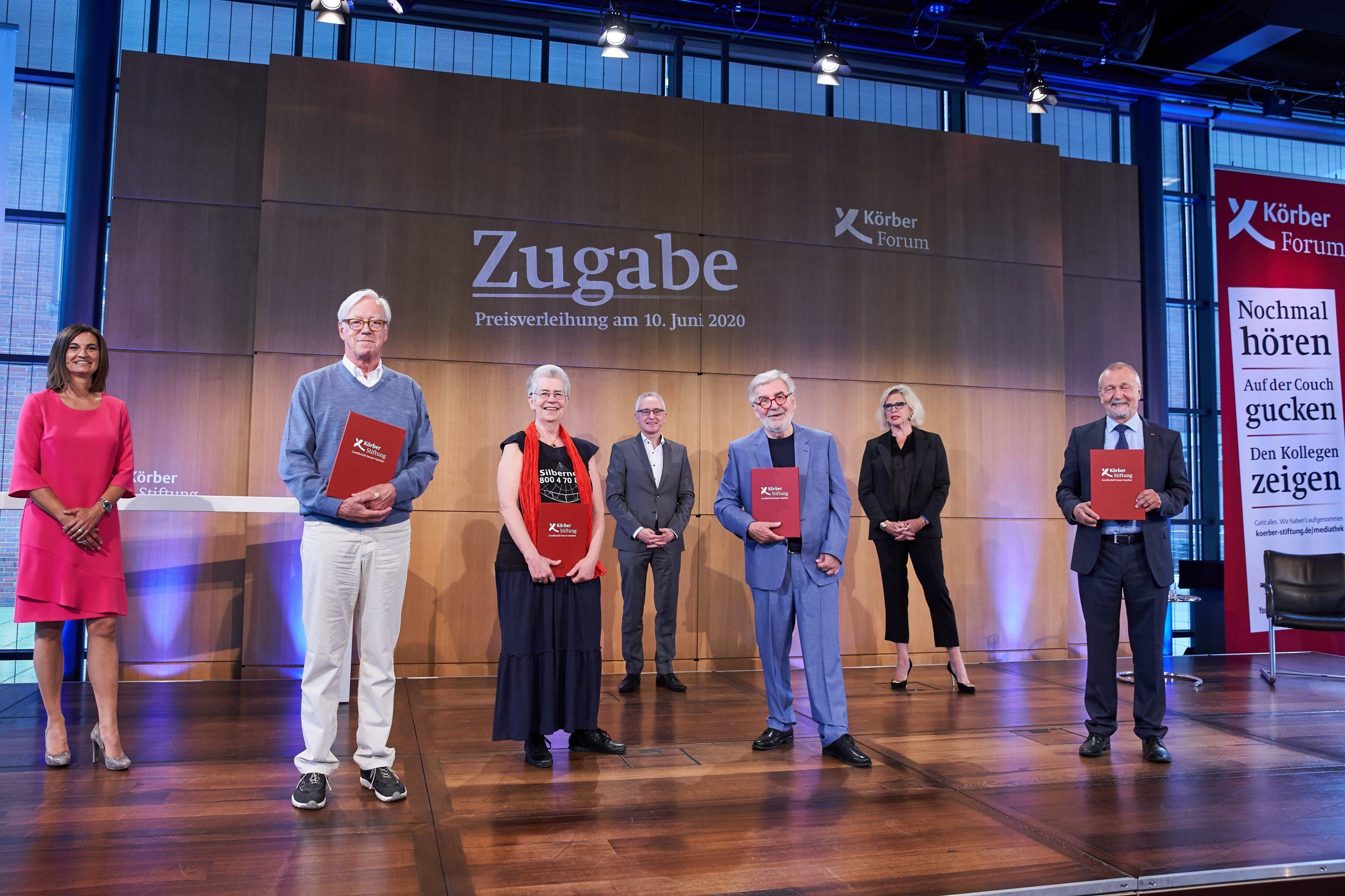 Zugabe-Preisträger 2020